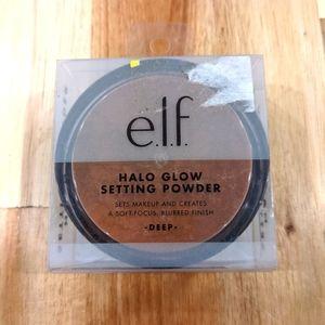 E.l.f brand Halo Glow Setting Powder Deep Shade